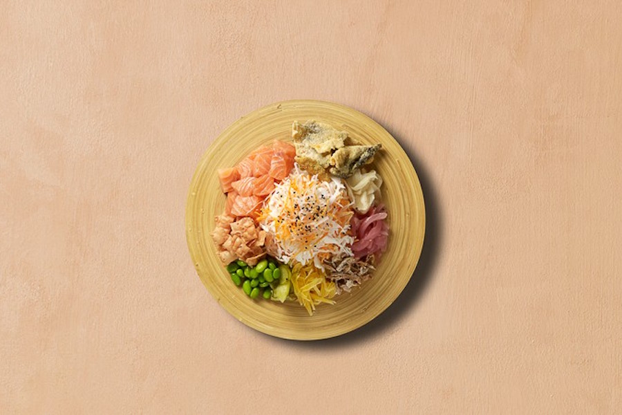 yusheng delivery - pink fish