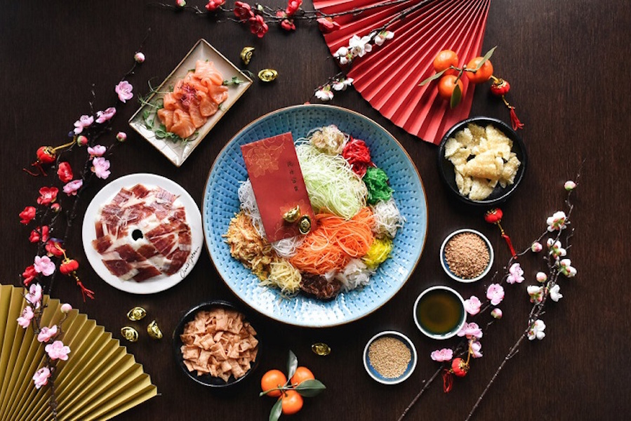 yusheng delivery - the alkaff mansion